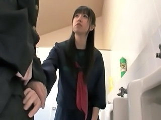 Toilet Uniform Asian Asian Teen Handjob Asian Handjob Teen