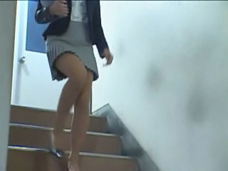 Legs Skirt Asian Forced