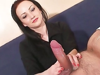 She loves to jerk