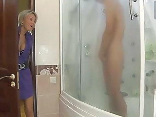 Mom Showers Russian Mom Son Old And Young Russian Milf