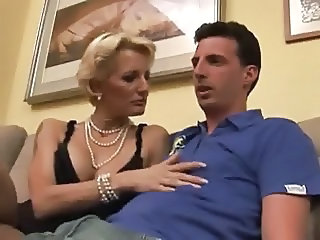 Italian European  Italian Milf Mom Son Old And Young