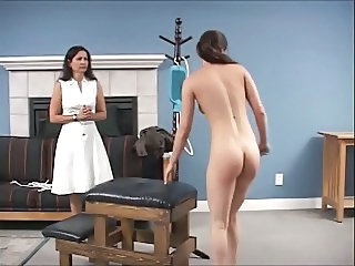 Spanking Daughter Mother