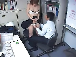 HiddenCam Asian Office Caught Forced