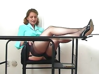 Kirsty Blue in class