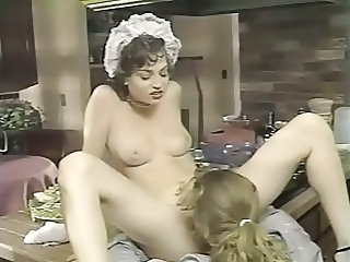 Maid Cute European Cute Teen Drilled French + Maid