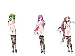 MMD IA Luka and Gumi Dance