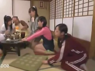 Family Daughter Japanese Asian Teen Daughter Family