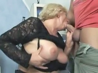 Video from: pornhub | Blond Granny Suck And Fuck