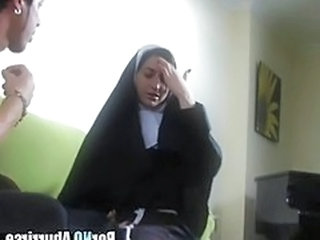 Video from: pornhub | Horny nun goes wild