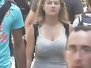 realy busty girl on the streat