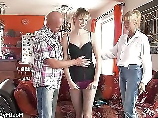 Old And Young Teen Threesome Dad Teen Daddy Daughter