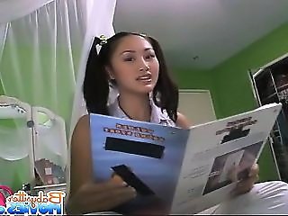 Babysitter Pigtail Asian Asian Teen Cute Asian Cute Teen