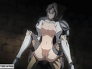 Caught Hentai Brunette Gets Brutally Fucked