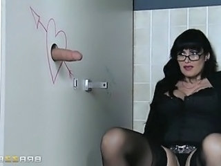 Gloryhole Big Cock Brunette Ass Big Cock Big Cock Milf Milf Ass