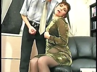 Secretary Mature Mom Mature Pantyhose Old And Young