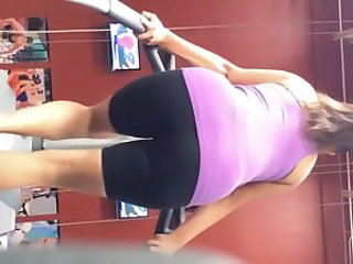 My fav gym girl again 2