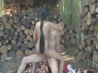 Farm Long Hair Outdoor Farm Kinky Outdoor