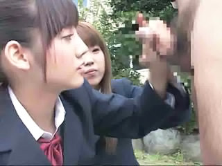 Japanese Outdoor Student Asian Teen Handjob Asian Handjob Teen