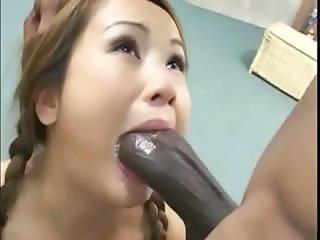 Blowjob  Deepthroat Asiat Tenåring Ass Stor Kuk Stor Kuk asiatisk