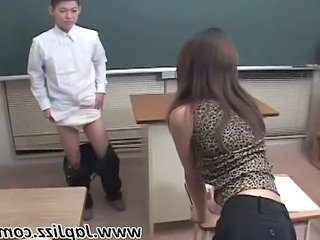 Teacher School Asian School Teacher Sperm Teacher Asian