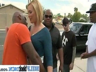 Gangbang Interracial  Outdoor Public