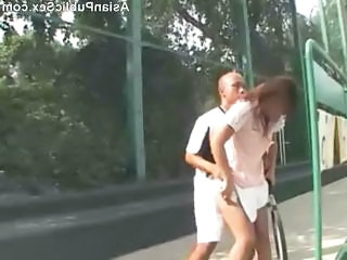 Asian Girlfriend Outdoor Outdoor Public Public Asian