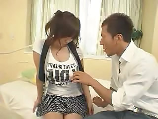 Big-breasted Japanese Bitch Hitomi Tanaka Takes Her Time With This Dick