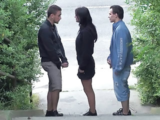 Outdoor Public Threesome Outdoor Public