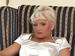 Granny In Satin Fuck With Young