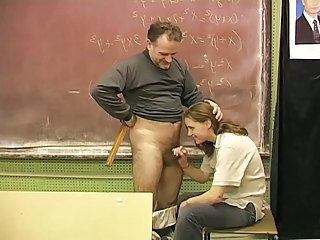 Teen Schoolgirl 18+ And The Hairy Teacher
