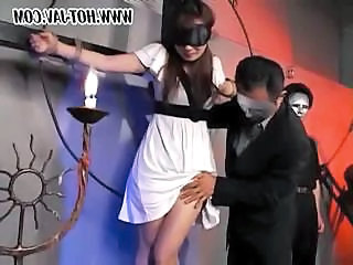 Fantasy Asian Bondage Abuse Bus + Asian Tied
