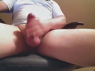 First Time With Cock Ring On Cam