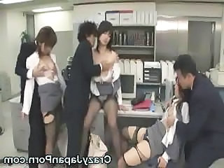 Funny Japanese Office Sex!