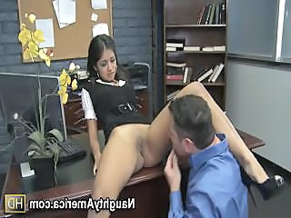 Ruby Rayes Is A Naughty Office Worker