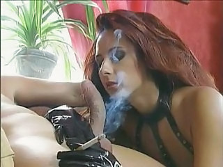 Smoking Latex Fetish