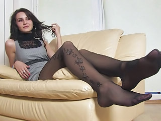 Feet Fetish Legs Stockings Stockings Nylon  Squirt Orgasm