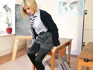 Horny Teacher Strip Body Just For You