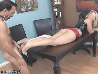 Feet Fetish Legs Punish