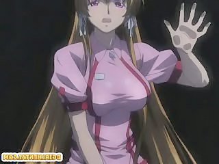 Hentai nurse with bouncing tits hot deep fucked by shemale anime