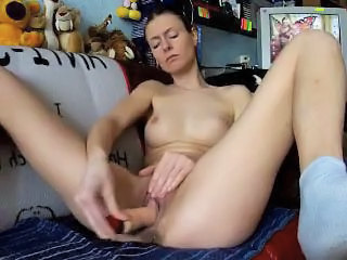 Webcam Masturbation With Dildo