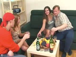 Family Drunk Russian Amateur Daddy Daughter