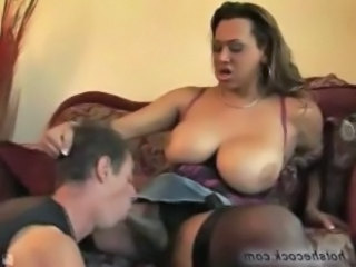 Shemale babe gets a hot blowjob