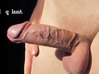 Intense Prostate Orgasm - Sperm Fountain