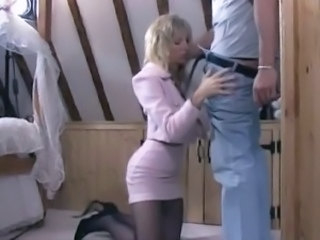 Misty McCain gets fucked in Black Nylons