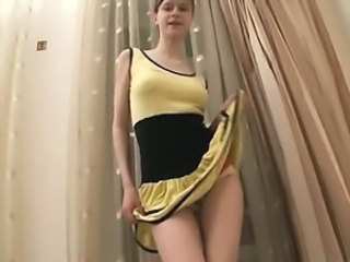 Beata dance strip and hole opening