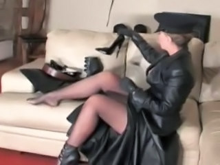 Legs Latex Fetish Leather Mistress