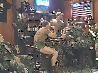 Army Muscled Groupsex