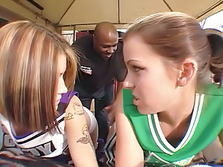 Interracial Cheerleader Uniform Teen Cheerleader Clothed Fuck