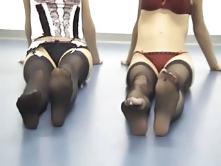 Feet Fetish Stockings Foot Stockings Outdoor Squirt Orgasm