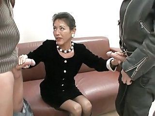 Secretary Mature Handjob European German German Mature